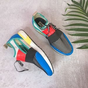 Steve Madden Multicolor Arctic Sneakers Size 7.5